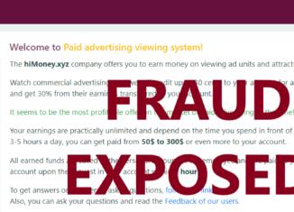 HiMoney.xyz review scam