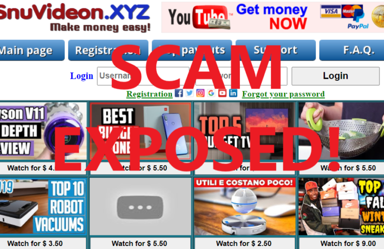SnuVideon.xyz review scam