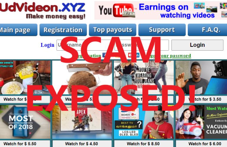 UdVideon.xyz review scam