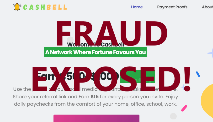 CashBell review scam