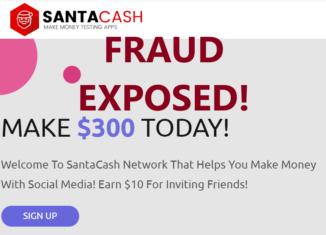 SantaCash.co review scam