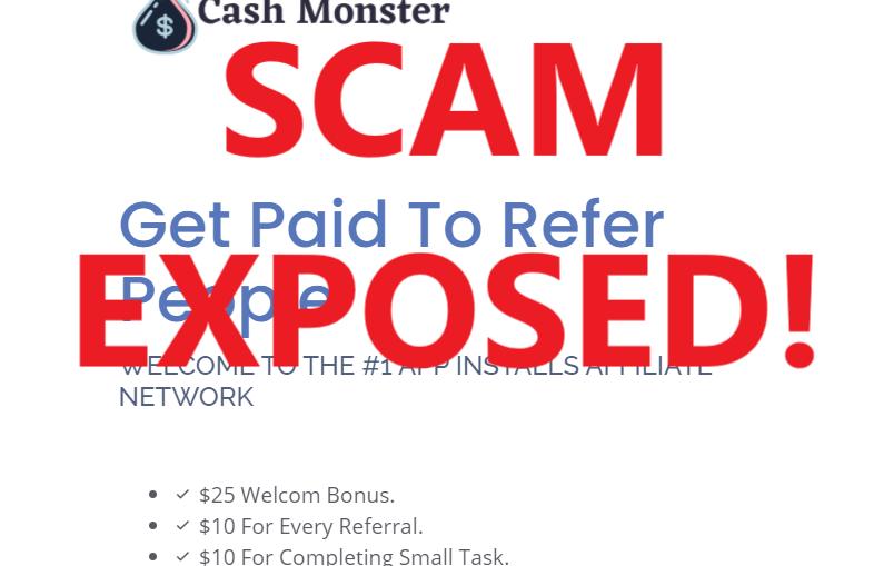 CashMonster review scam