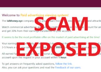 IsiMoney.xyz review scam