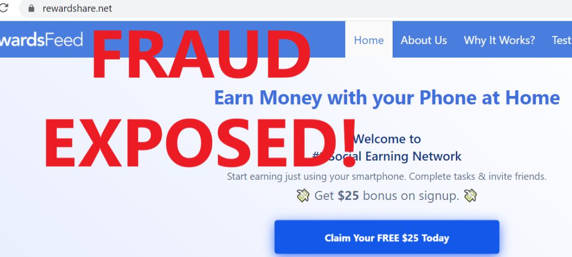 RewardShare.net review scam