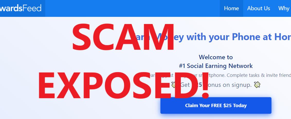 RewardsFeed review scam