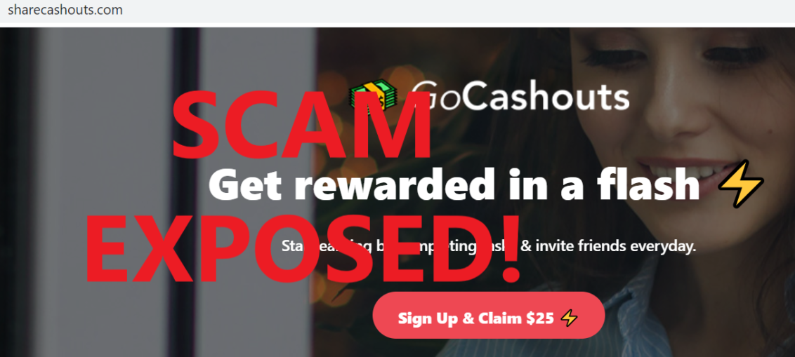 ShareCashouts.com review scam