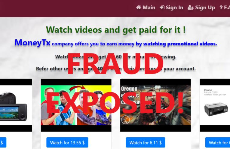 MoneyTx.xyz review scam