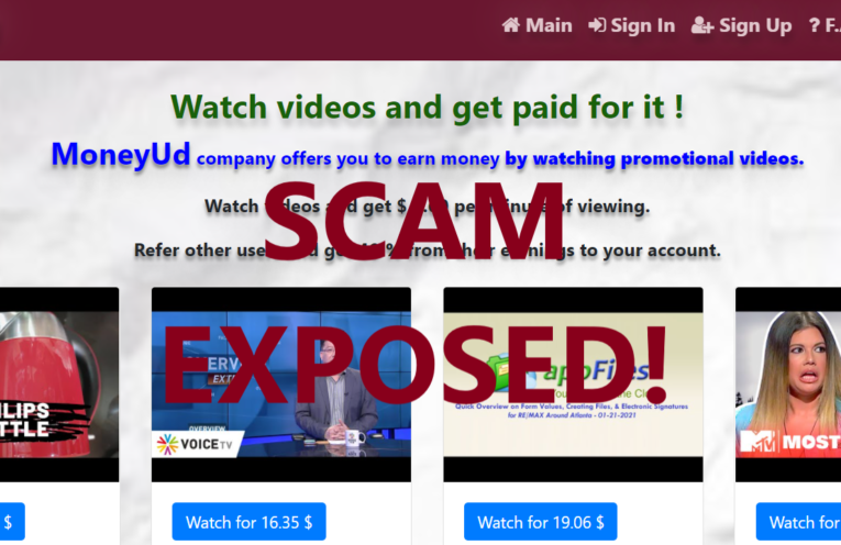 MoneyUd.xyz review scam