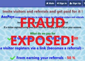 AocPays.xyz review scam