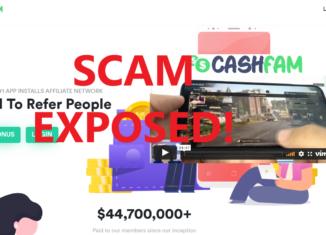 CashFam review scam