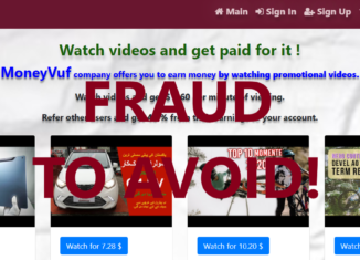 MoneyVuf.xyz review scam