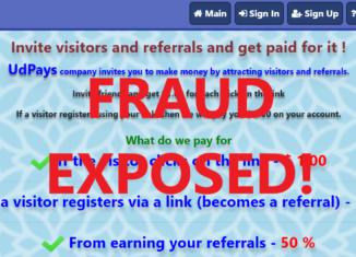 UdPays.xyz review scam