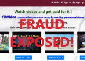 YihVideo.xyz review scam