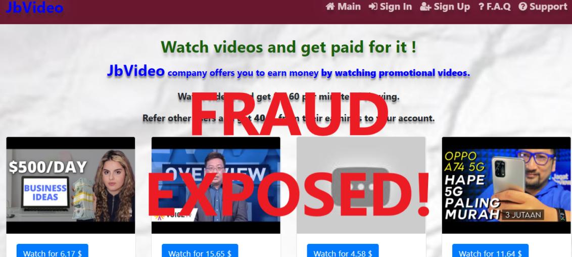 JbVideo.xyz review scam