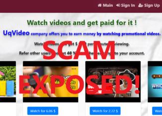 UqVideo.xyz review scam