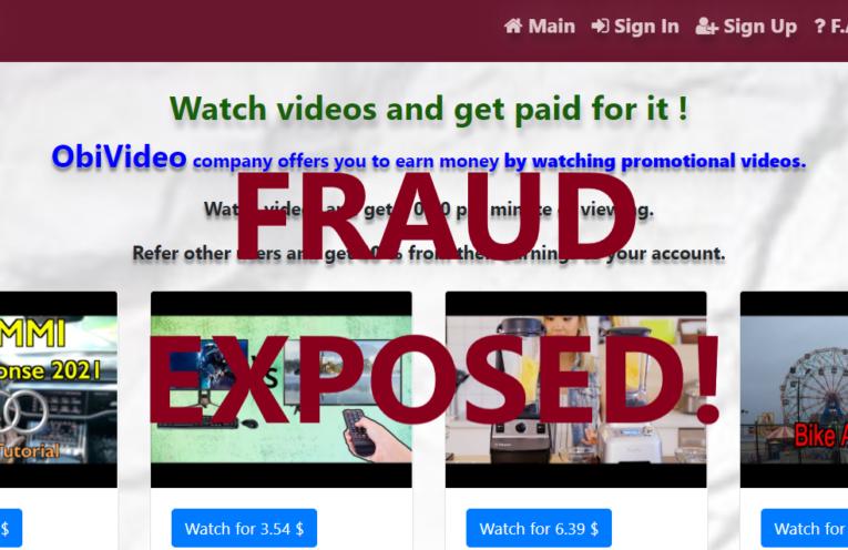 ObiVideo.xyz review scam