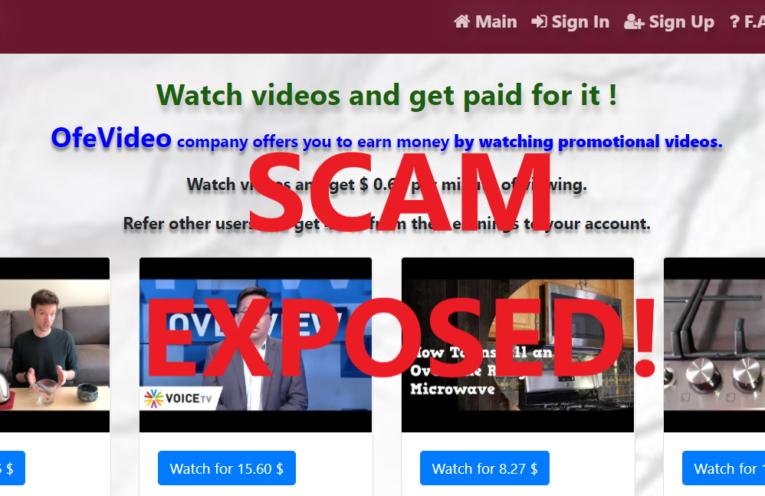 OfeVideo.xyz review scam