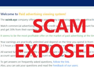 XzJob.xyz review scam