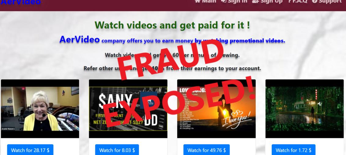 AerVideo.xyz review scam