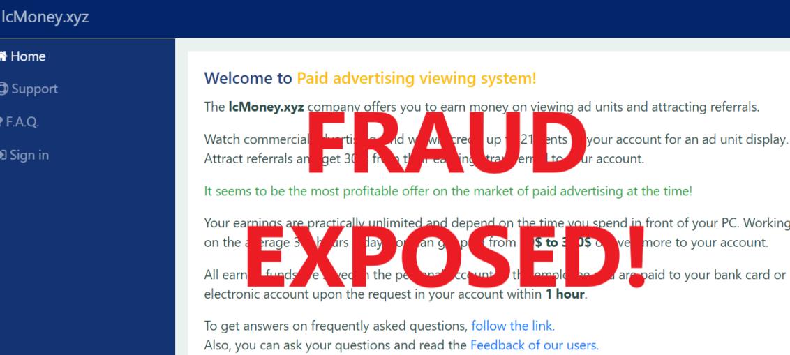LcMoney.xyz review scam